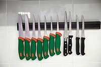 Kitchenware. Luis Irizar cooking school. Donostia, Gipuzkoa, Basque Country, Spain