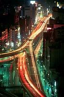 Expressway Running Through Tokyo