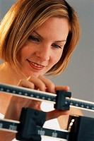 Woman Satisfied with Body Weight
