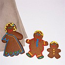 Family of Gingerbread Cookies