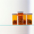 Pill Bottles Containing Medication