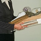 Interior Decorator Carrying Items