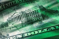 Treasury Building on $10 Bill