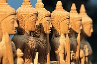 Row of Guard Statues