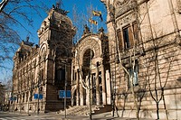 Courthouse, Barcelona. Catalonia, Spain