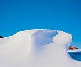 10592716, winter, field, snowdrift, Schneeverwehung, remote, chalet, alpine hut, Austria, Europe, snow