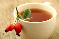 Dog rose tea (Rosa canina)