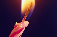 Flame on a Birthday Candle