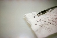 Business Plans Written on a Napkin