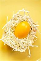 Easter, Easter nest, Easter egg, yellow,   Easter, Eastertime, carton, nest, art grass white, Paper snippets, egg, Easter traditions, traditions, trad...