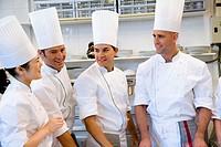 Preparations. Luis Irizar cooking school. Donostia, Gipuzkoa, Basque Country, Spain