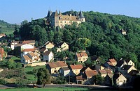 The Château de La Rochepot - Côte-d'or - Burgundy - France