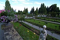 Germany, Lake Constance, island Mainau, flower island, park, visitors,