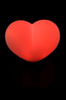 Heart,    Plastic heart, light heart, red, symbol, love, affection, falls in love cordiality, love proof feelings love symbol quietly life fact recept...