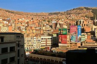 City Centre, La Paz. Bolivia