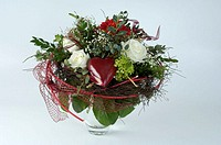 Bouquet, of, flowers, cut, out, object