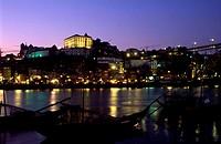 Portugal, Douro Province, Oporto, Douro river banks