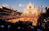 Italy, Toscane, Florence, Calcio