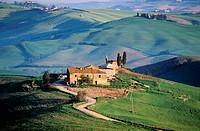 Italy, Tuscany, Sienan countryside