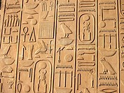 Heiroglyphs at Karnak