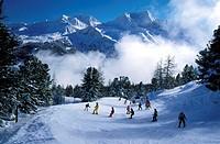 France, Savoie (73), La Plagne, ski resort