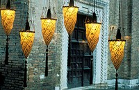 Italy, Venice, Venetia Studium, Fortuny´s lampadaires
