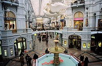 Russia, Moscow, the Gum department store