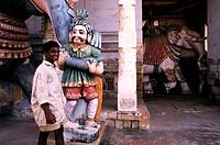 India, Tamil Nadu State, Kumbakonam, Nageshwara temple