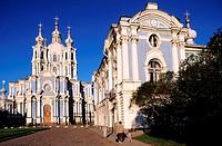 Russia, Saint Petersburg, Smolny monastery