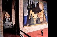 Spain, Catalonia, Figueras, Dali´s Theatre-Museum (Teatre-Museu Gala Salvador Dalí)