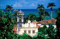 Brazil, Pernambouco state, Olinda colonial city, church of Sao Francisco´s covent