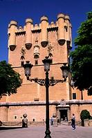 Spain, Castile-Leon Community, Segovia, the Alcazar castle