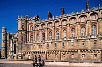 France, Yvelines (78), Saint-Germain-en-Laye castle and the National Museum of Antiques