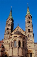 Dom (cathedral), Bamberg. Bavaria, Germany