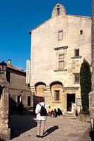 Les Baux de Provence. Bouches-du-Rhône. Provence. France.