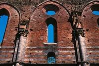 europe, italy, tuscany, siena, st galgano abbey