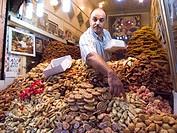 africa, morocco, marrakech, market, souq, cakes shop
