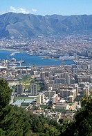 town view, palermo, italy