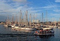 spain, barcelona, darsena nacional, harbour