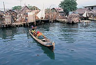 panama, san blas archipelago, rio sidra island