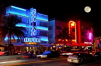 United States, Florida, Miami, Art Deco district in South Beach