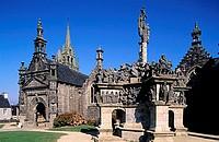 France, Finistère (29), the parochial enclosure of Guimiliau
