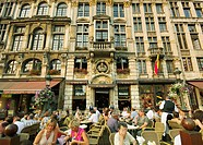 Europe. Belgium. Brabant. . Brussels (Bruxelles Brussel). Grand Place