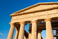 Temple of Concord, Valley of the Temples. Agrigento. Sicily, Italy