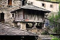 ´Horreo´. Teixois. Taramundi. Asturias. Spain