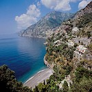 10103364, Italy, Europe, Amalfi, coast, Positano, village, sea, Kapanien