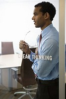 Clear Thinking Businessman