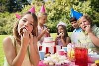 Children´s Birthday Garden Party