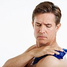 Man with Sore Shoulder (thumbnail)