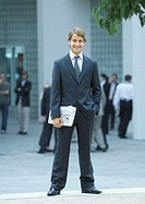 Businessman, full length portrait